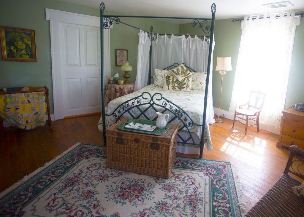 Vineyard Room, Captain Kinne House B&B, Ovid, NY